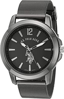 Classic Men's Quartz Metal and Alloy Watch, Color:Black...