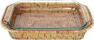 Artifacts Trading Company Rattan Rectangle Baker Basket 13