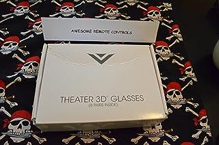 8 Pair of NEW Vizio Passive 3D Glasses XPG308 - Works on All Vizio TV's