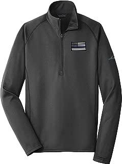 American Flag Blue Line Base Layer Fleece 1/2 Zip EB236