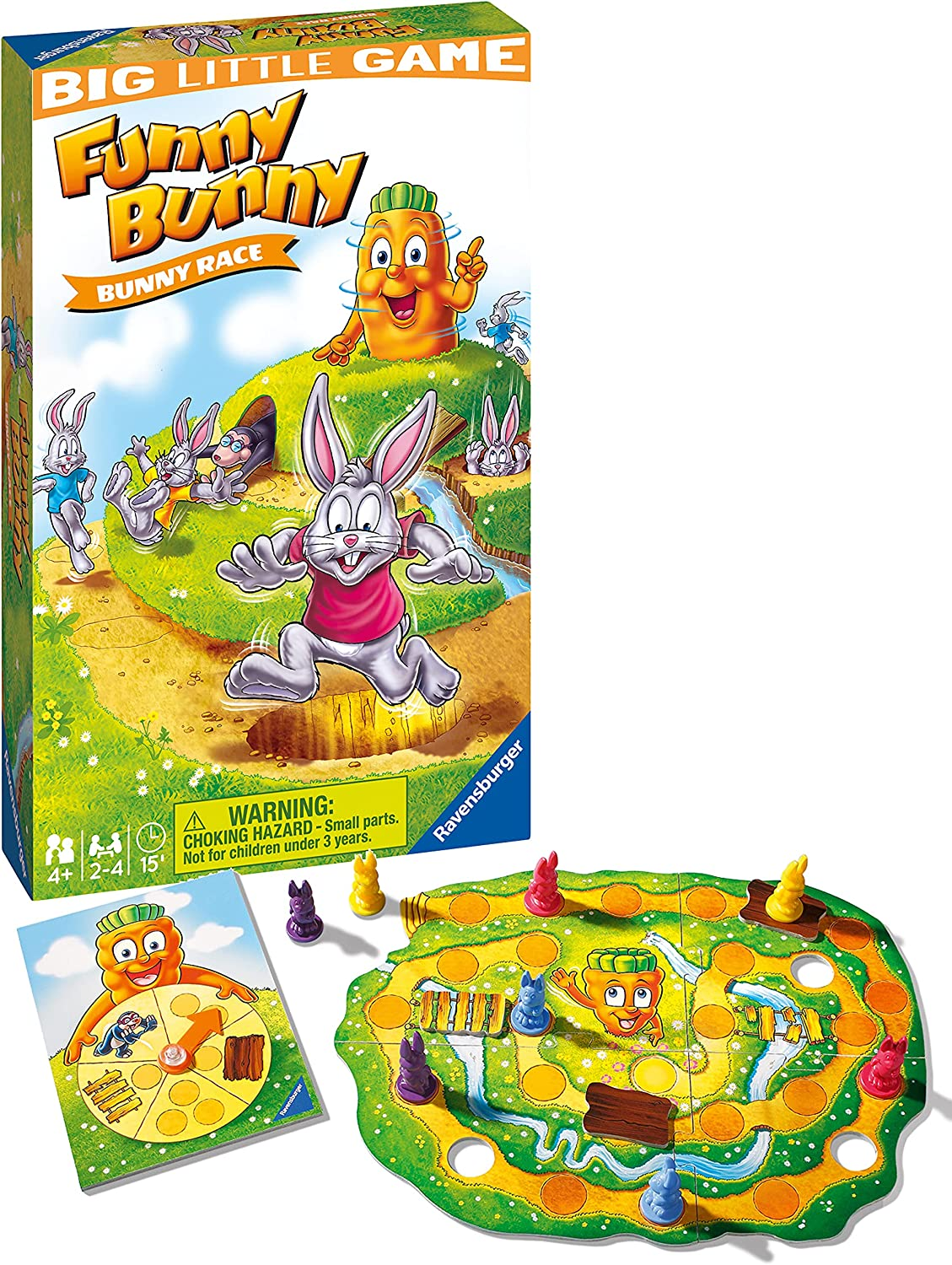 Ravensburger Max 72% OFF Funny service Bunny Travel Game for Children 4 Years Ages a