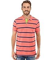U.S. POLO ASSN. - Stripe Pique Polo Shirt