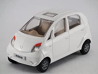 Centy Toys & Scale Model Of Tata Nano Car- From (Kidsshub) 125/60/65 mm. In L/B/H . White