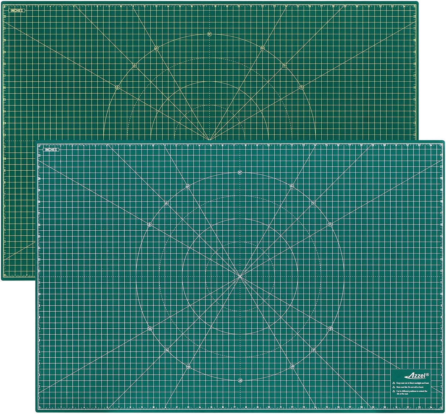 Self Healing Rotary Cutting All items in the store Mat Perfect 36x24 Sided half Inch Double