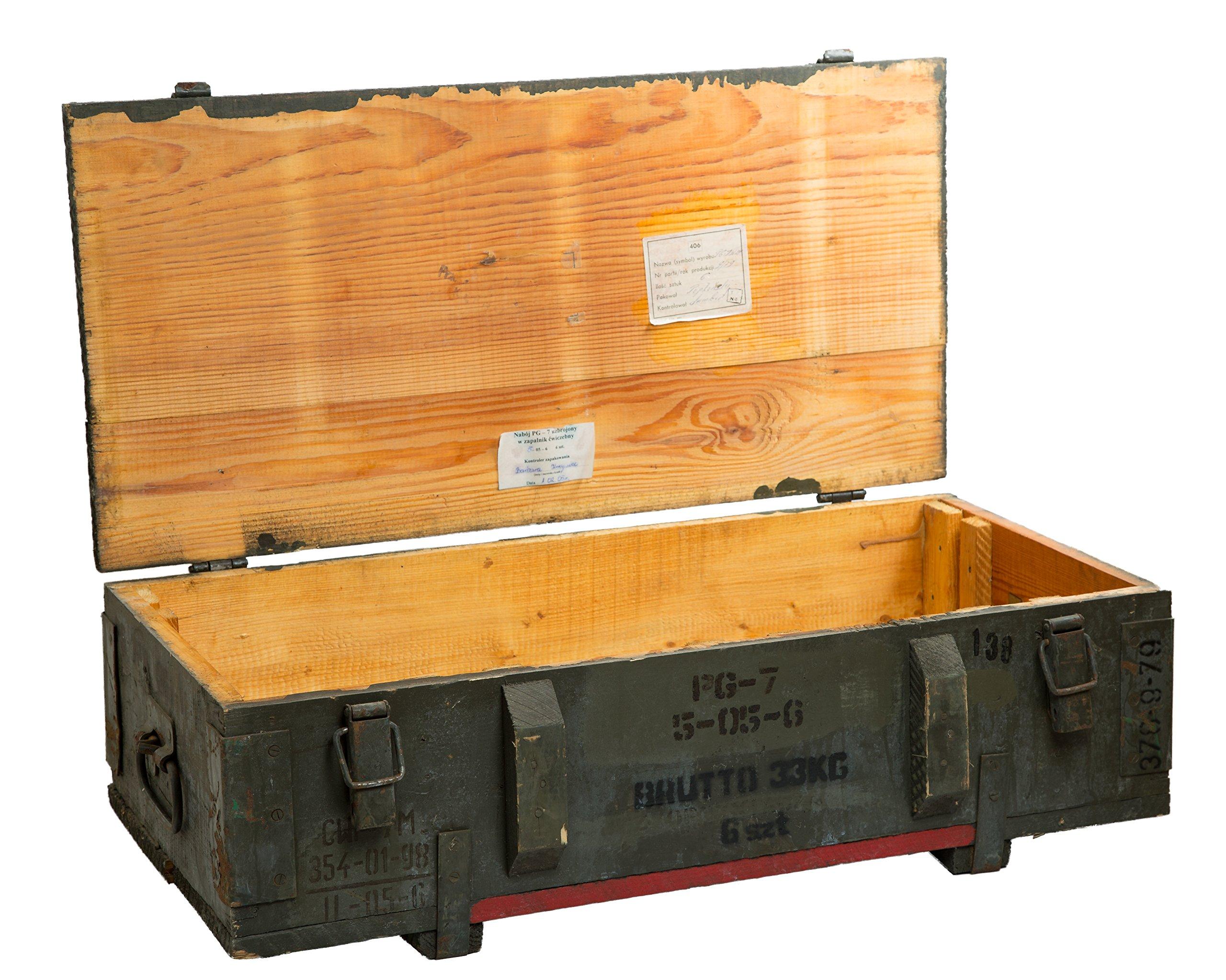 Caja de municiones PG 7 Almacenamiento pecho ca 80x42x24cm Cajón ...