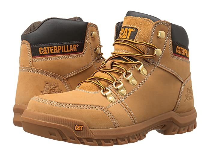 Caterpillar  Outline (Honey Reset) Mens Work Lace-up Boots