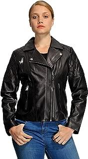 Women's Moto Leather Jacket