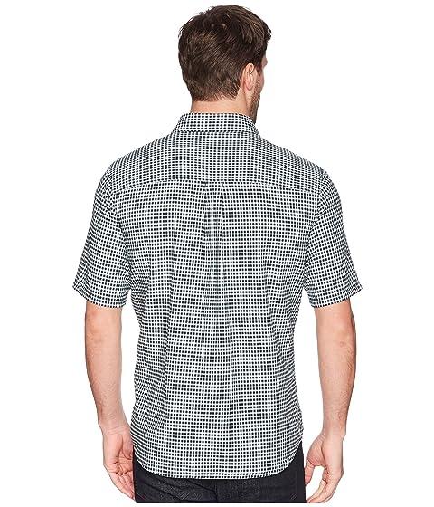 clásico corta Camisa de de Indigo Weyland estampado manga profundo Woolrich Ver con XpZ4fq