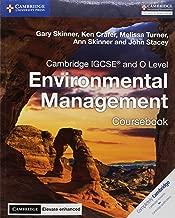 Cambridge igcse (R) و O مستوى للبيئة إدارة coursebook مع Cambridge Elevate معززة إصدار (2سنة) (Cambridge International igcse)