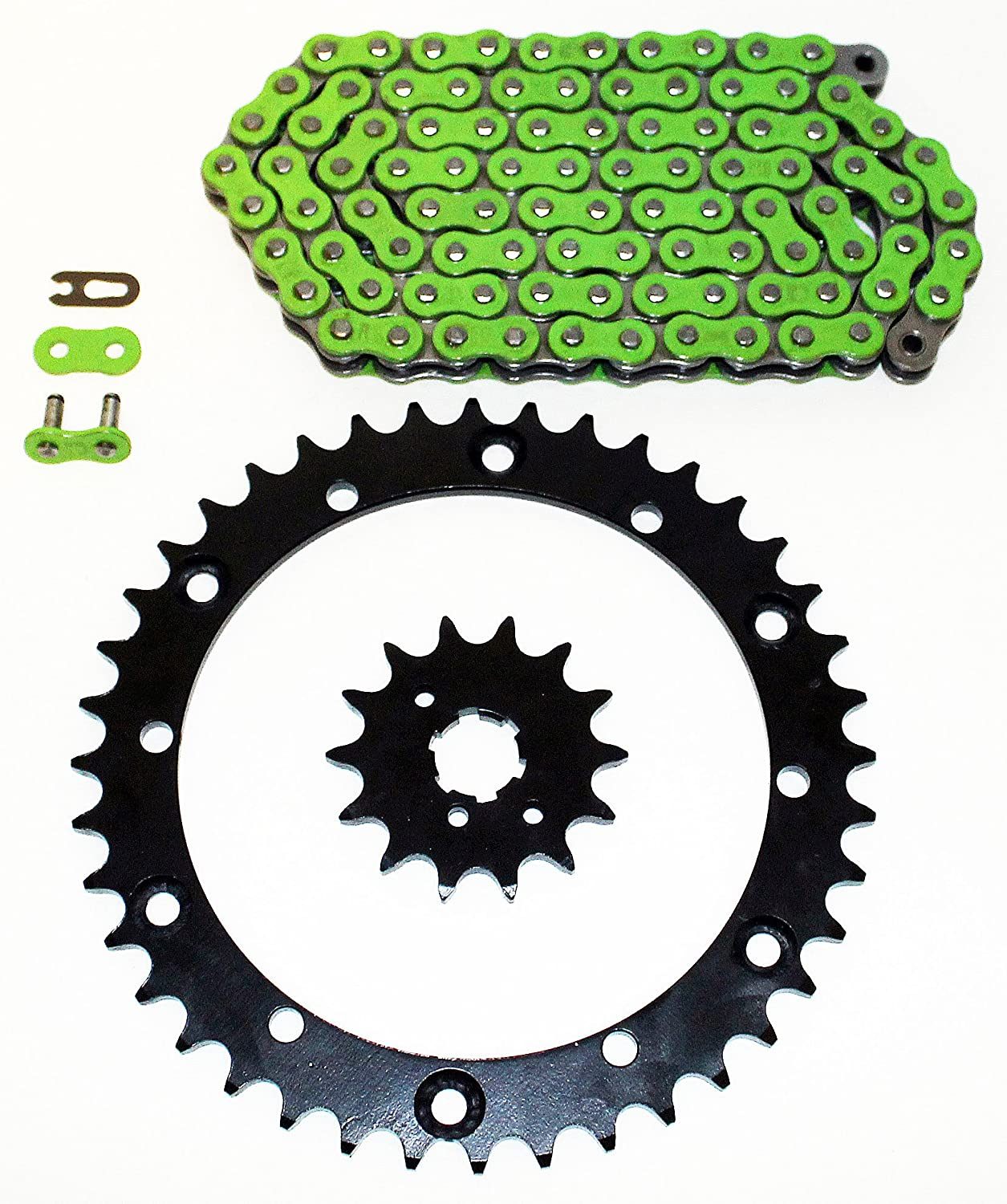 89-93 List price fits Yamaha YFM350 Direct store 350 Warrior Blac Chain Green O-Ring Non