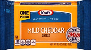 Kraft Mild Cheddar Cheese (16 oz Block)