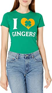 T-Line Juniors I Love Gingers Graphic Tee