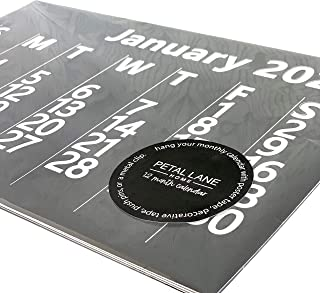 $24 » 2021 Wall Calendar 12 Month - Large Wall Calendar with Thick Quality Paper - Hanging Calendar for Home & Office - Calendar...