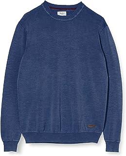 Taglia Produttore: Medium Chatham Blue 586 Unica Pepe Jeans Sammi Felpa Uomo Blu