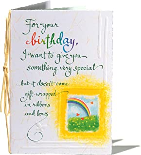 Blue Mountain Arts Birthday Greeting Card (For your birthday.)