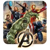 Build in character soundboard Screen crack notifications Animated character interactions Avengers ringtone