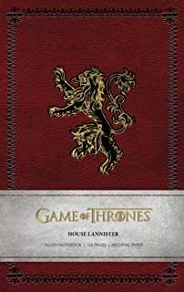 Game of Thrones: House Lannister Ruled Notebook