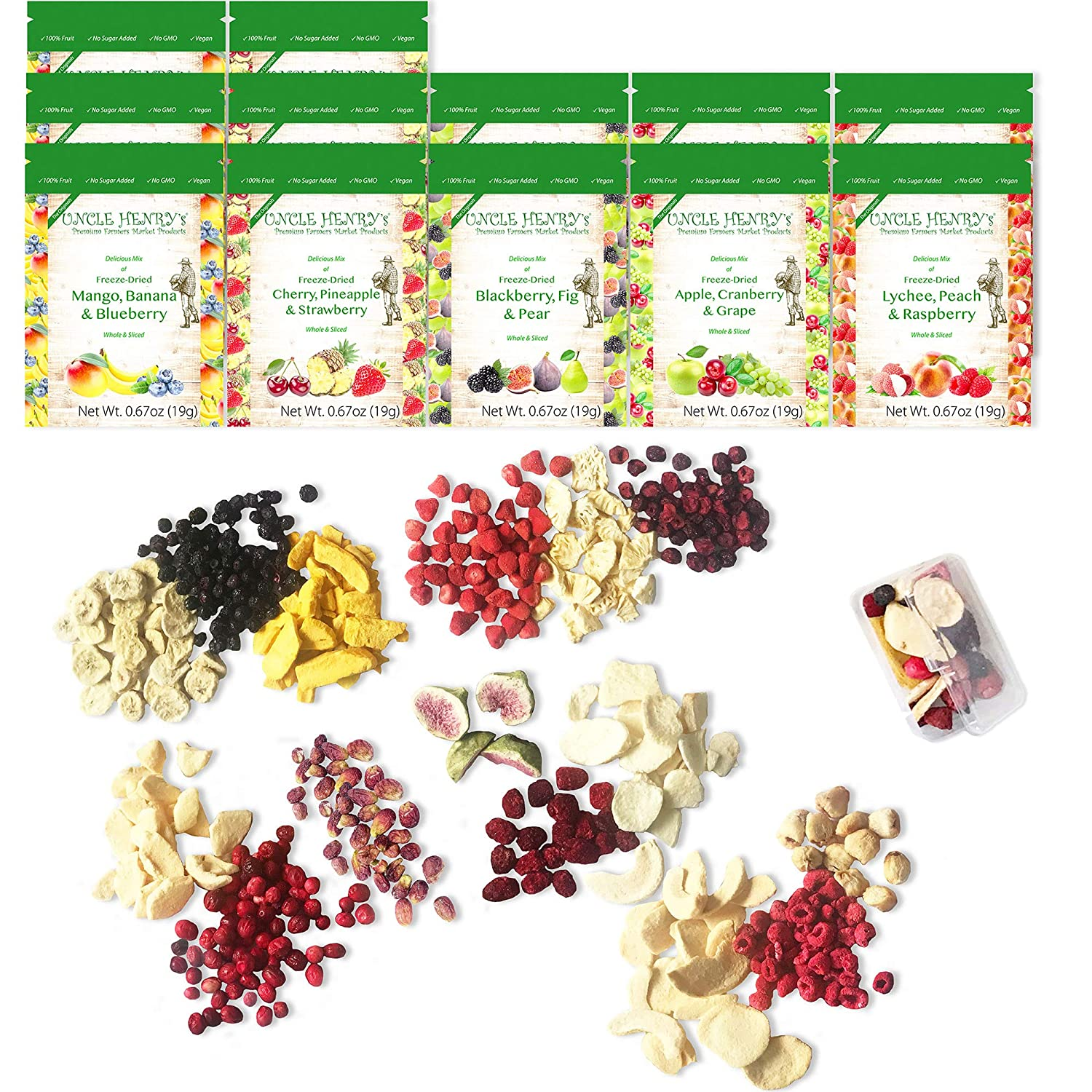 5 ☆ very popular Freeze Direct sale of manufacturer Dried Fruit: 15 Delicious Blueberry Strawberry Fruits R