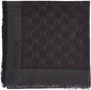 Luxury Fashion   Boutique Moschino Womens 03233M2023016 Grey Scarf   Fall Winter 19