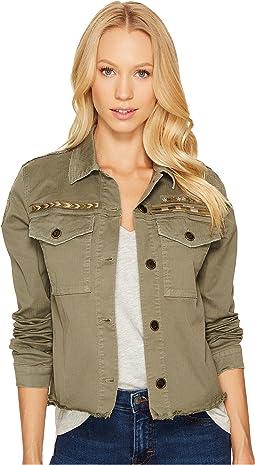 Military Crop Jacket