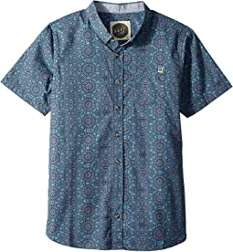 Rip Curl Kids Scopic Short Sleeve Shirt (Big Kids)
