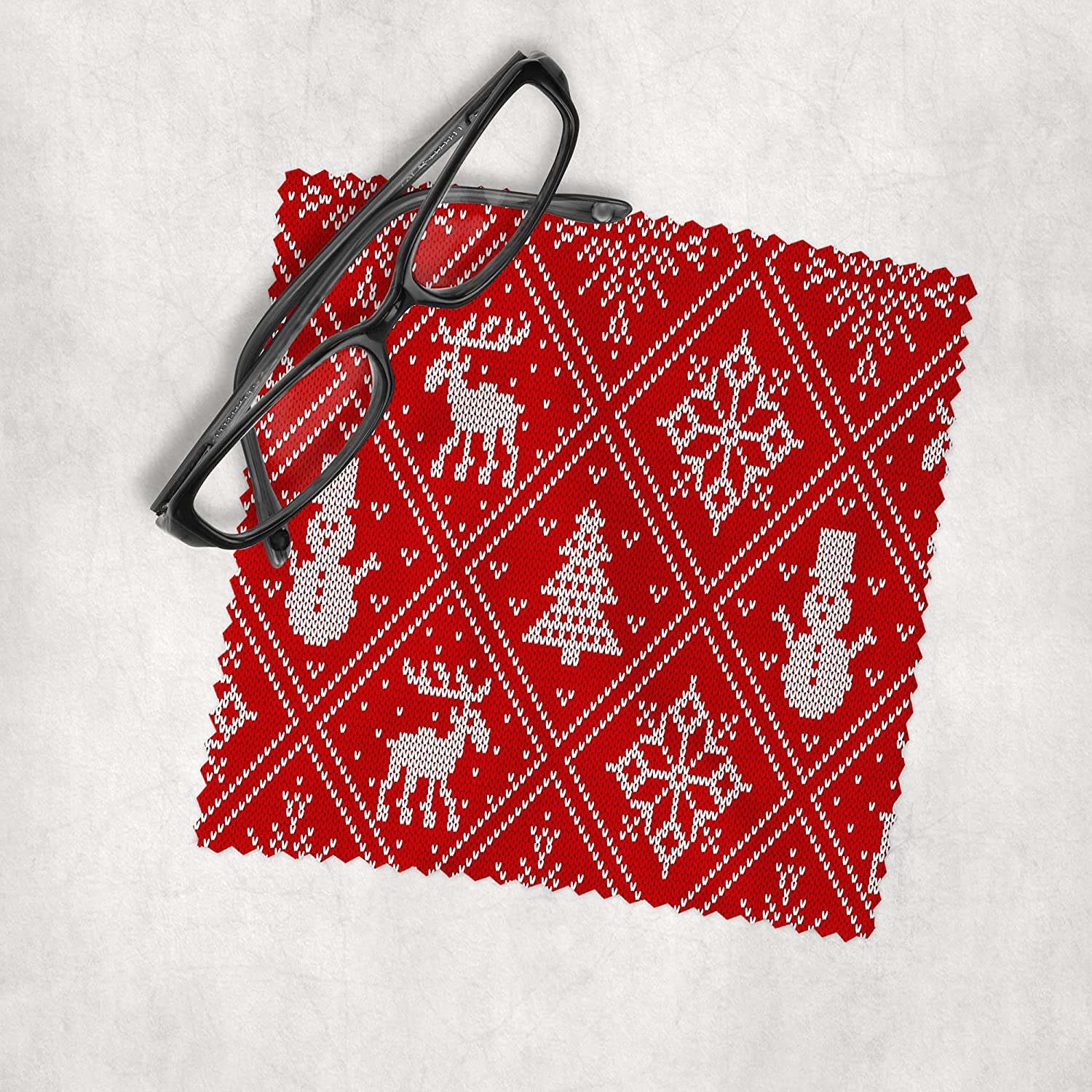 Christmas Sweater 7 - Microfiber Cloth Cheap mail order shopping Lens C Spring new work Cleaning