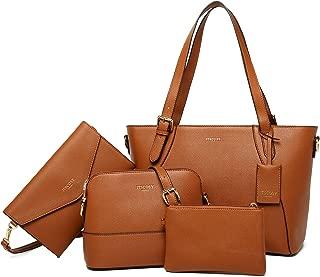 Tote Bag for Women Shoulder Bags Handbags Satchel Hobo 4pcs Purse Set