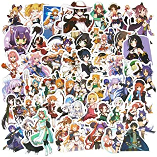 Princess Connect! Re:Dive Game Stickers, 50Pcs Waterproof Anime Girl Stickers for Teens Japanese Anime Game Girl Stickers ...