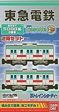 Bトレインショーティー 東京急行5000系 6扉車2両セット プラモデル
