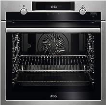 AEG BPE555220M Einbau-Backofen / SteamBake – mit Feuchtigkeitszugabe / Pyrolyse – Selbstreinigung / SoftClosing / Touch-Bedienung / Grillfunktion / Display mit Uhr / Kindersicherung
