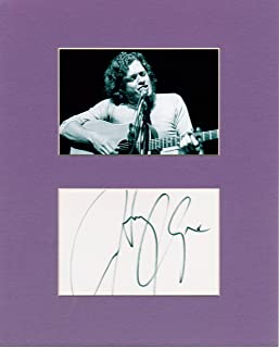 Harry Chapin 8 X 10 Photo Display Autograph on Glossy Photo Paper
