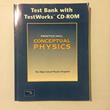 CONCEPTUAL PHYSICS 3E COMPUTER TEST BANK CD-ROM WITH BOOK 2002C