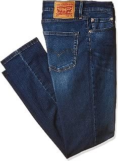 Levi's Men's Le 511 Slim Fit Denim Jeans, Black (Soft Black A11), Size 33