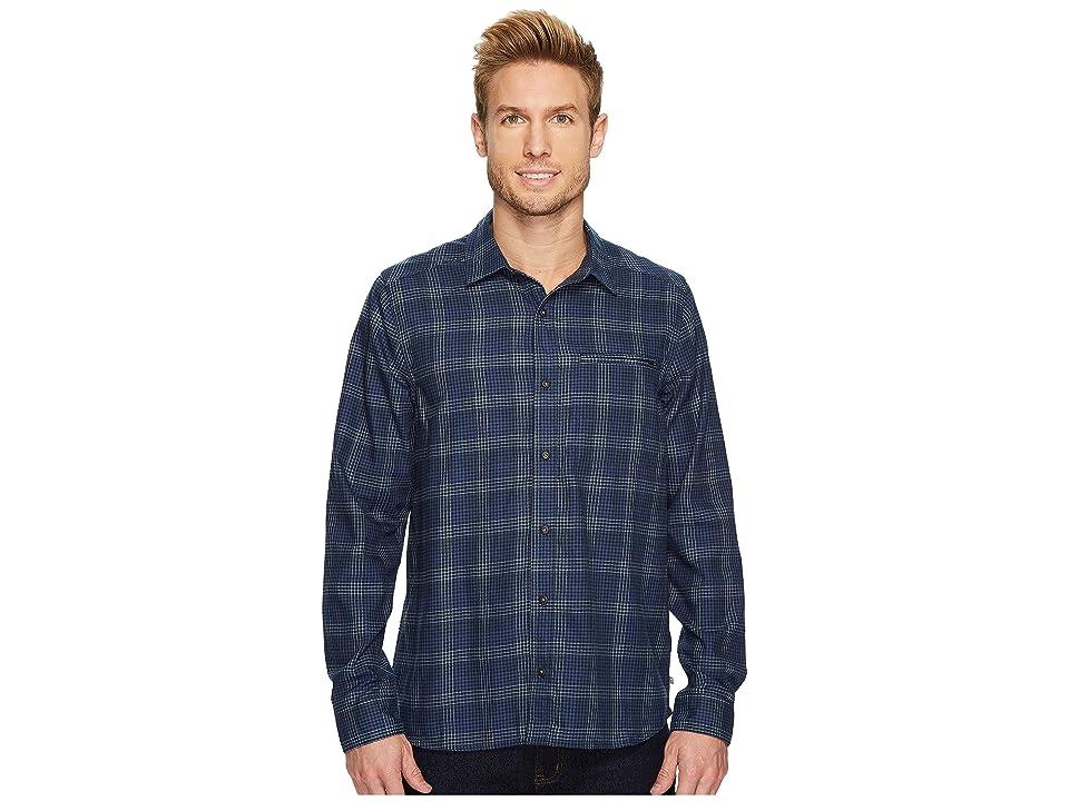 Toad&Co Wainwright Long Sleeve Shirt (Dark Graphite) Men