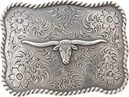 Antiqued Longhorn Buckle