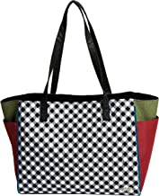 Golf Tote Bag - Glove It - Big Fashion Tote Bag for Women - Womens Large Tote Bags with Zipper Pocket & Shoulder Strap - Ladies Sport Totes, Work Tote, School, Travel, Laptop Tote