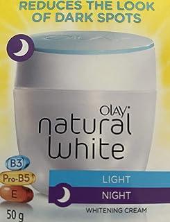 Olay (オレイ) ナチュラルホワイトクリームライトナイト50G