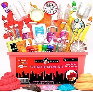 comprar comparacion Original Stationery Kit de Slime para Elaboración DIY con Complementos Slime Unicornio, Fluffy, Glitter, Purpurina, Nube, ...