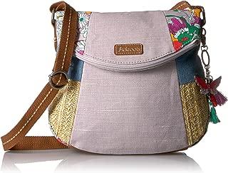 Artist Circle Foldover Cross Body Bag