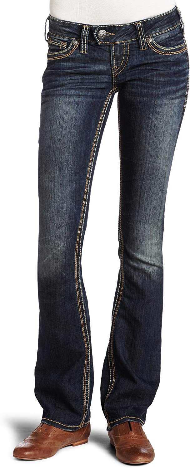 Silver Max 78% OFF Dallas Mall Jeans Juniors Tuesday Bootcut Baby 16.5 Jean