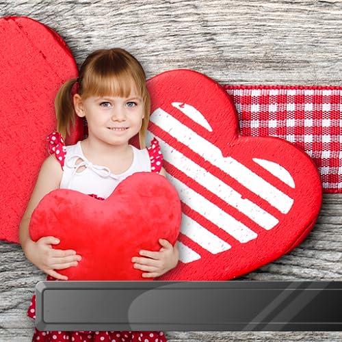 Quadros de corações encantadores