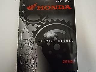 2006 honda crf250x service manual