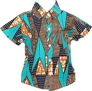 Little Boys Shirt, Ankara Print, Handmade, African Print Clothes, Short Sleeve Shirt, Party Shirt, Toddler Shirt
