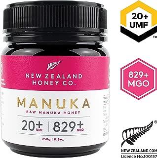New Zealand Honey Co. Raw Manuka Honey UMF 20+ / MGO 829+ | 8.8oz / 250g