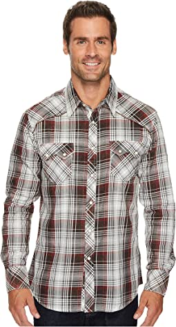 Rock and Roll Cowboy - Long Sleeve Snap B2S3148
