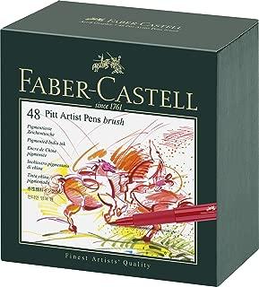 Faber-Castell Pitt Artist 48 Pens in Studio Box (54-167148)