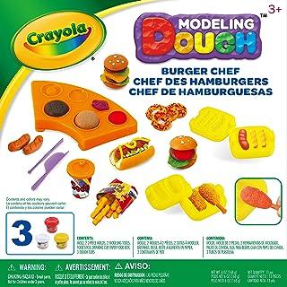 Crayola Modeling Dough Burger Chef Kit - 11 pieces