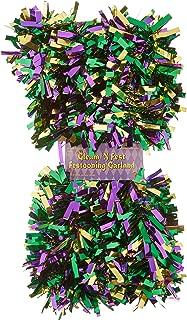 Beistle 50281-GGP Metallic Festooning Garland Party Accessory, Mardi Gras Decorations, 4