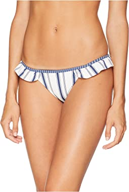 Wave Lines Cheeky Bikini Bottoms