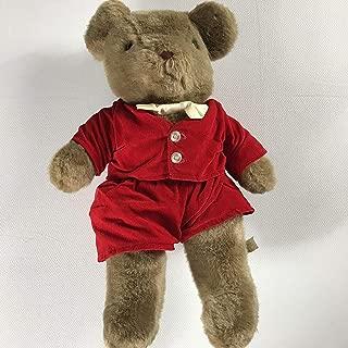 Eden Toys Plush Bear Vintage Toy 16